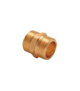 "Mamelon laiton 1/2"" x 1/2"" MM"