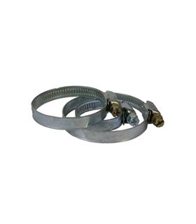 Collier plat chromé Ø25-40