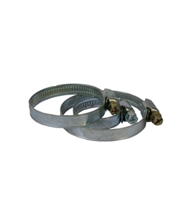 Collier plat chromé Ø35-50