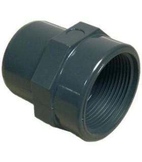 "Embout PVC pression MF 63 x 2"""