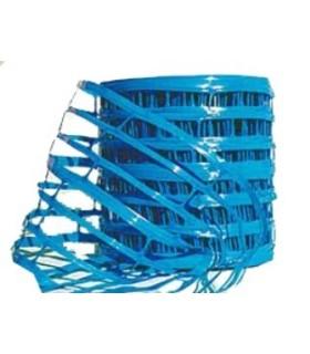 Grillage avertisseur bleu