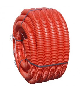 Gaine TPC rouge Ø63 mm 50m