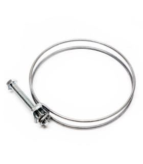 Collier serrage double fil 19-23mm