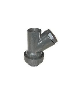 """Clapet boule PVC CH-RU 2""""1/2 FF"""