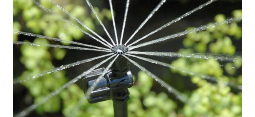 Micro-aspersion pour parc et jardin